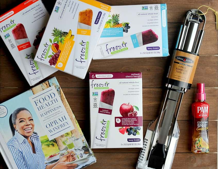 Contents of the Outdoor Eats and Entertaining Babbleboxx
