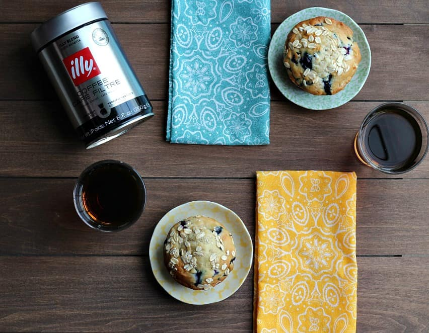 Our Perfect Morning with illy Coffee