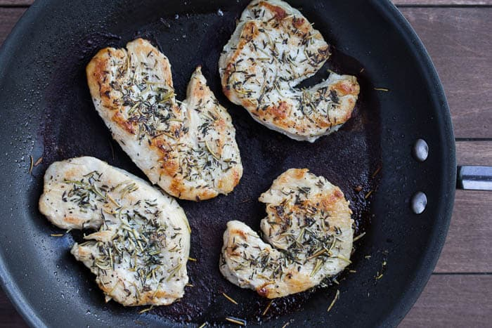 Rosemary-Thyme Turkey Cutlets