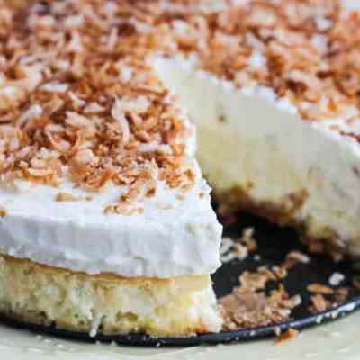 Simple Coconut Cheesecake with The Cheesecake Factory at Home