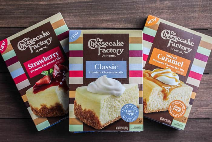The Cheesecake at Home Cheesecake Mixes