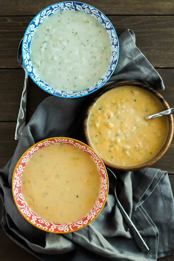 3 Bowls of Soup to Celebrate National Soup Month!