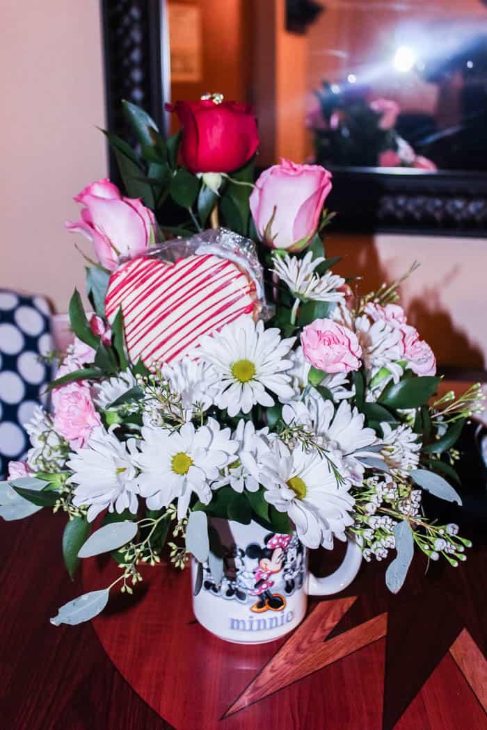 Disney Room Flower Gift