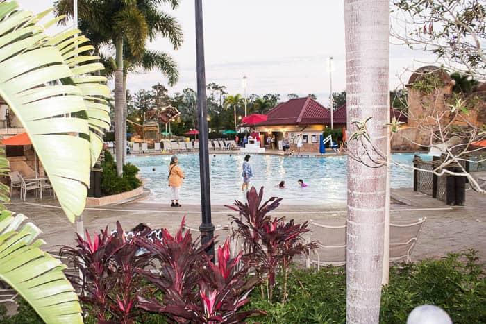 Large Pool at Disney's Caribbean Beach Resort