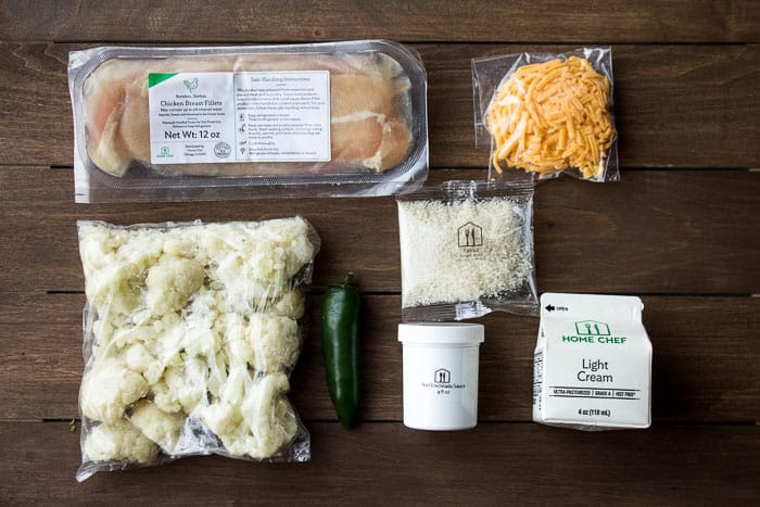 The Ingredients for Chicken Ranchero