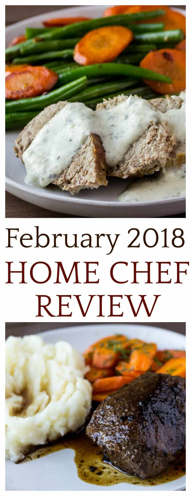 Check out the 4 meals and one smoothie in this February 2018 Home Chef review! It's my favorite meal kit subscription box so far! There is also a link to save $30 on your first order! | #homechef #homechefreview #subscriptionbox #mealkits