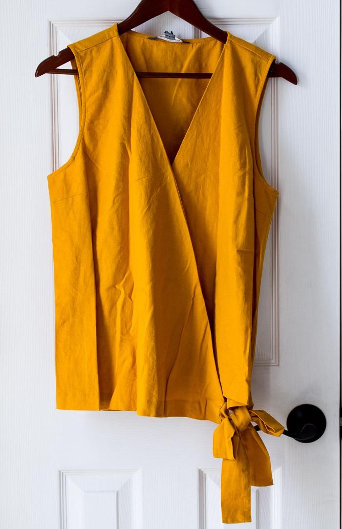 Stitch Fix Garis Cross Front Linen Top by Market & Spruce #ad #stitchfix #stitchfixreview #springfashion #fashion