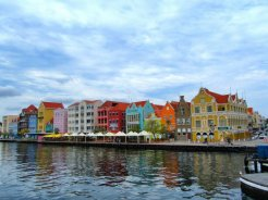 Willemstad, the colourful capital of Curaçao