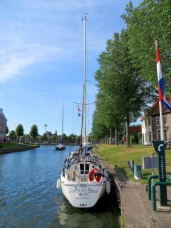 The small town of Medemblik.