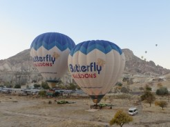 Up we go in Cappadocia 5