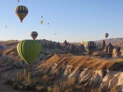 Up we go in Cappadocia 8