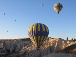 Up we go in Cappadocia 9