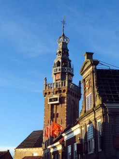 The Speeltoren (Bell Tower). It contains the oldest carillon in the Netherlands.