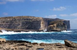 Cliffs around Fungus Rock