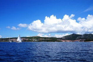 Hvar island from the waterside