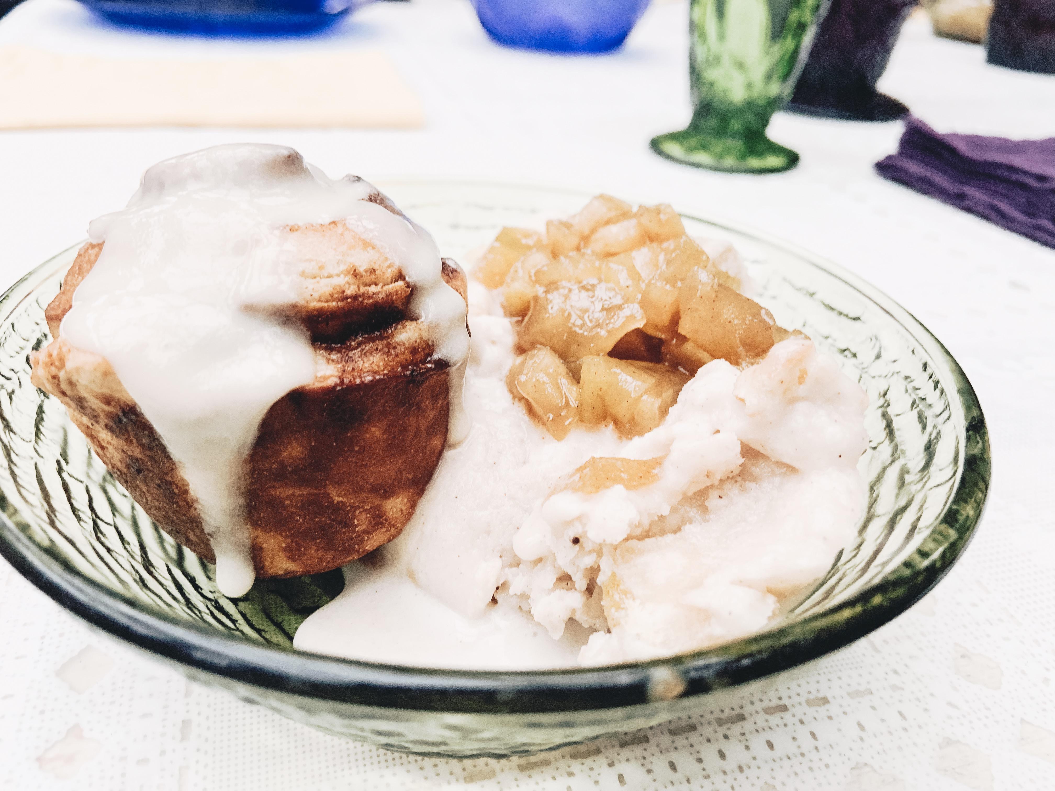 Sunday Sundae: Guilty Pleasure Apple Pie Ice Cream (Dairy Free)
