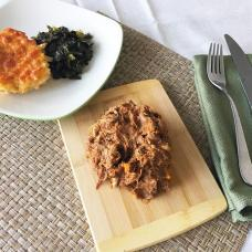 PUlled Pork w/ Mac&Cheese and Collards