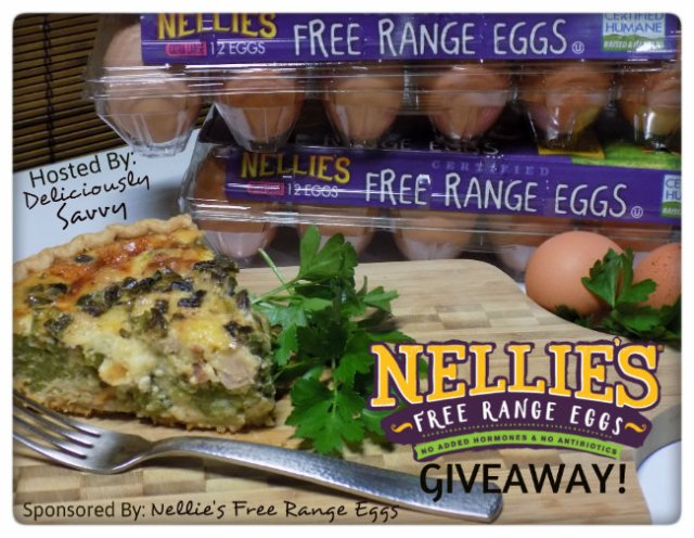 Nellie's Free Range Eggs Giveaway PLUS a Recipe! Ends 12/31 ~ A Wandering Vine