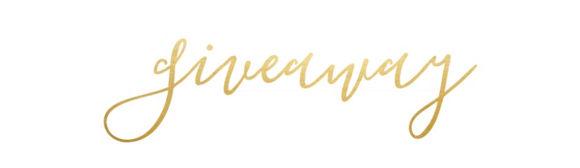 giveaway text design