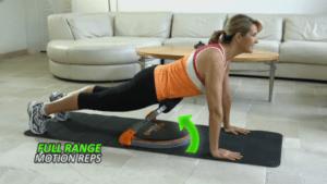 Woman using Fit-Nation Flex Core 8