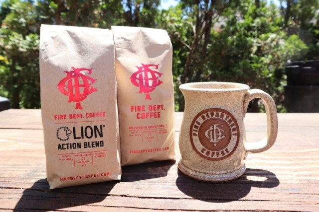 Fire Dept. Coffee Bundle Giveaway items
