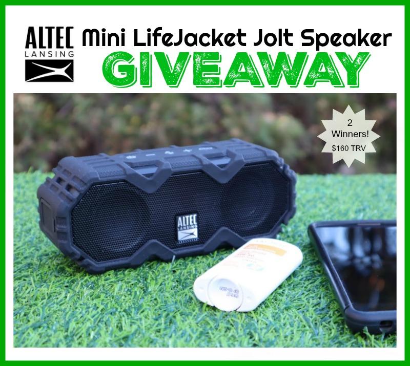 Altec Lansing Mini LifeJacket Jolt Speaker Giveaway
