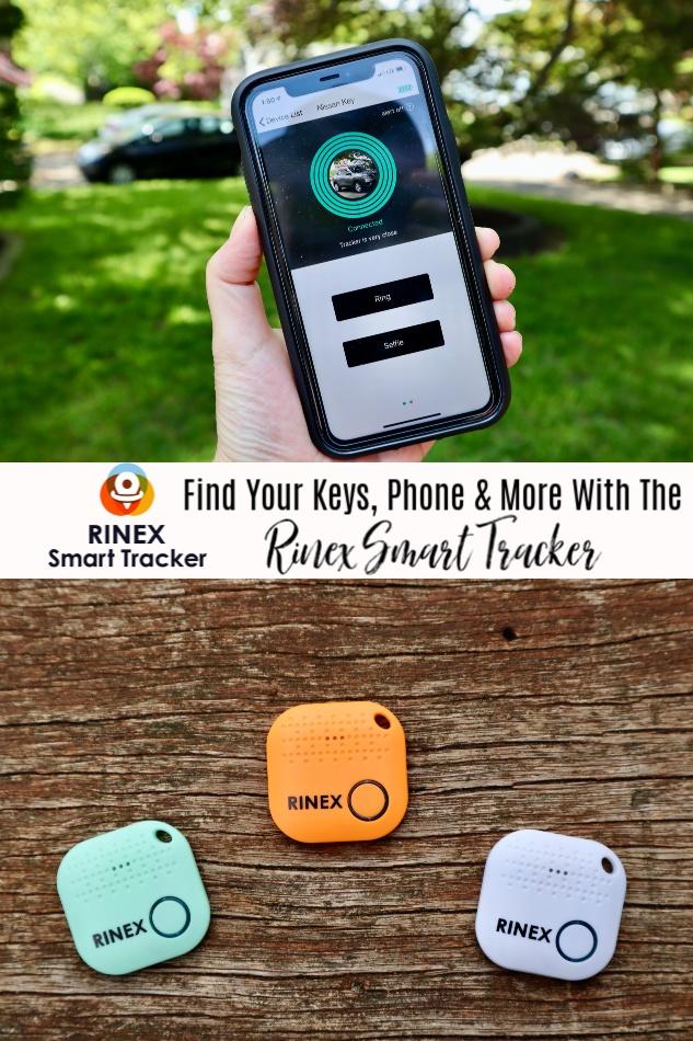 Rinex Smart Tracker Giveaway ~ Ends 6/30 @RinexSmartTracker @DeliciouslySavv #MySillyLittleGang