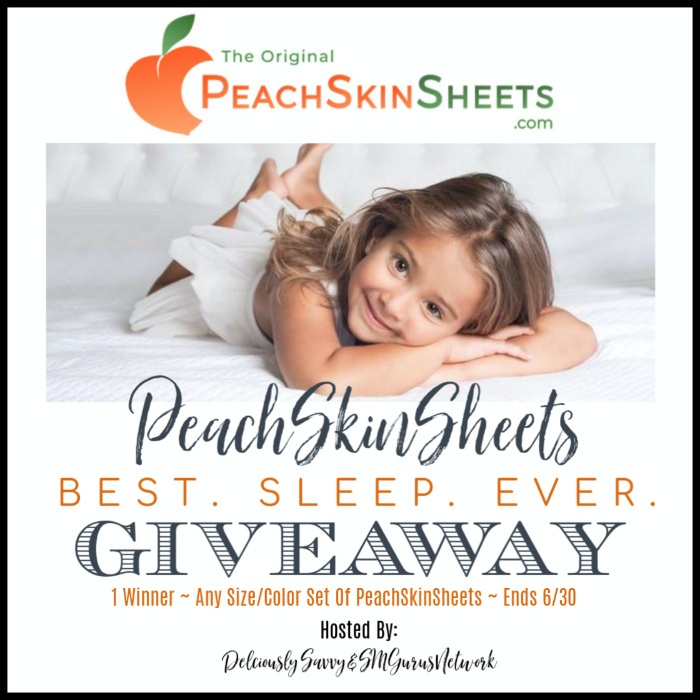 any size and color set of PeachSkinSheets Best Sleep Ever!