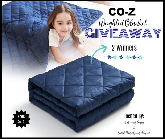 CO-Z Weighted Blanket Giveaway