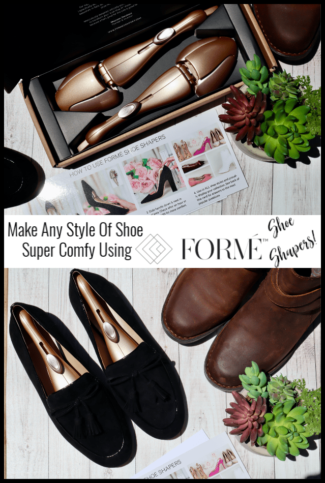 Forme Shoe Shapers Giveaway ~ Ends 8/28 @formecomfort @deliciouslysavv #MySillyLittleGang