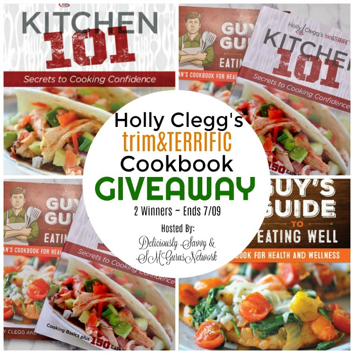Holly Clegg's trim&TERRIFIC Cookbook Giveaway