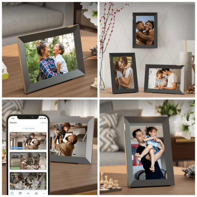 Nixplay 10.1 inch Touch Smart Photo Frame Giveaway ~ Ends 10/27 #MySillyLittleGang