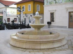 Fountain in the main square
