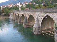 The brigde on the Drina