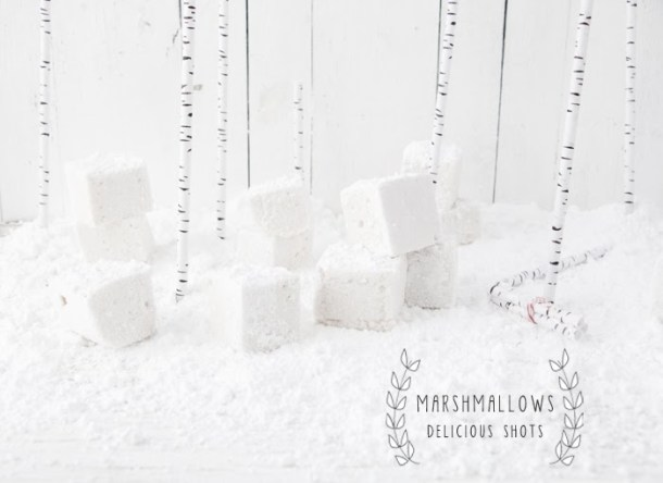 Vanilla Marshmallows with a Middle Eastern Twist
