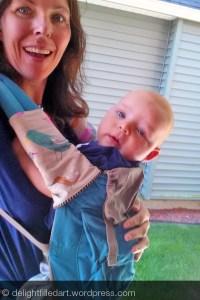 ergo with DIY chew pads