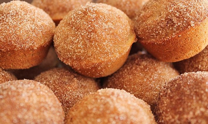 Old Fashioned Cake Doughnut Mini Muffins (Vegan + GF)