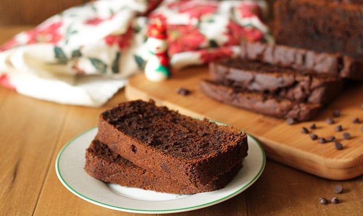 Vegan Gluten Free Gingerbread Loaf