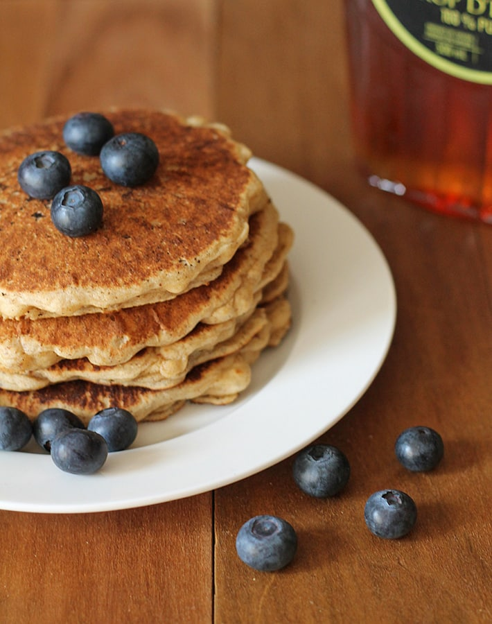 Follow this recipe for Easy Vegan Gluten Free Pancakes and your family will be asking for more!