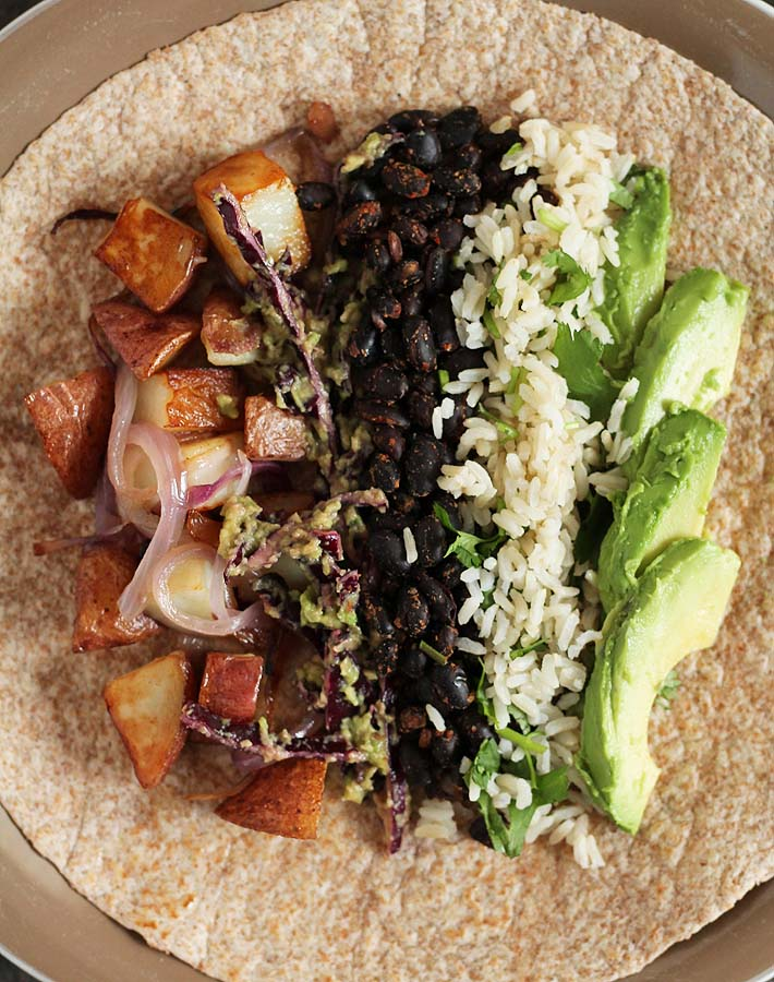 Love breakfast burritos? Well, you're going to love this Vegan Breakfast Burrito recipe from the Minimalist Baker's new recipe book