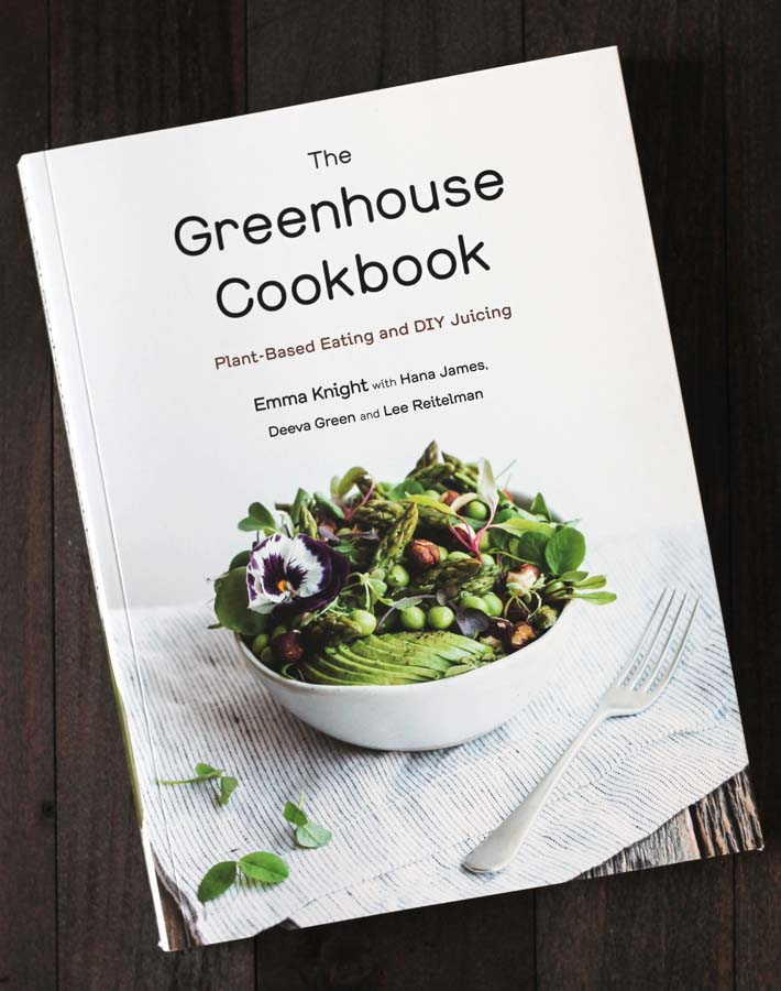 "This is ""The Greenhouse Cookbook"" that includes the Key Lime Cups recipe found in this post."