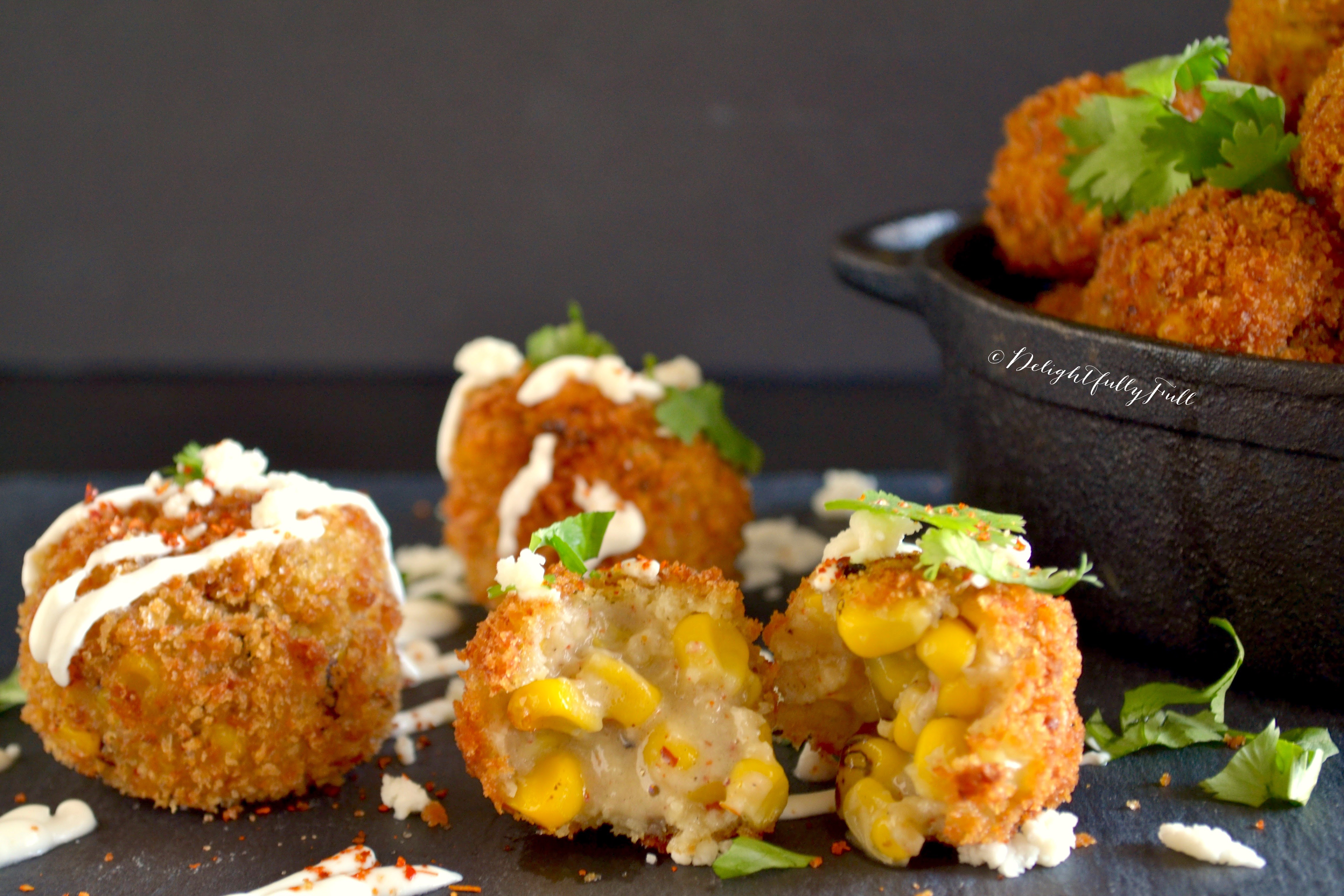 Elotes Fritters