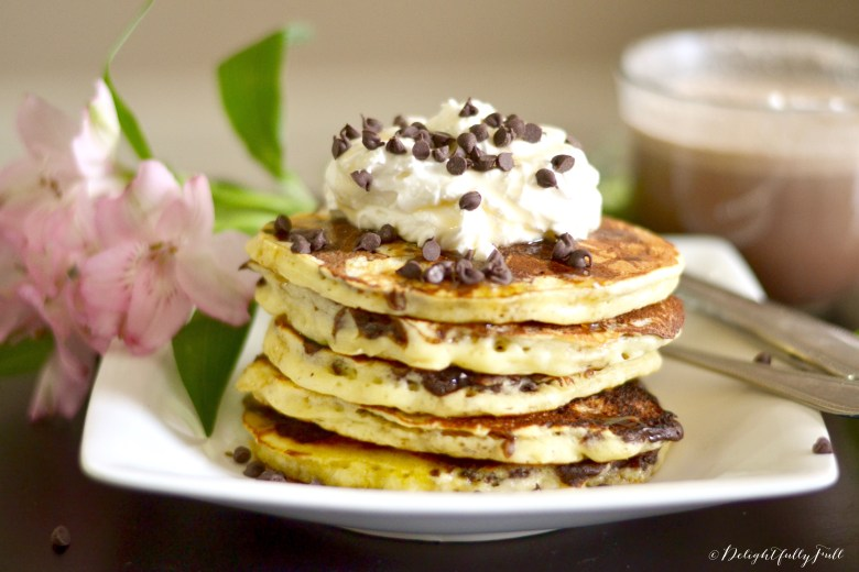 Mocha marble pancakes delightfully full anyone who knows me knows that i love brunch its absolutely my favorite meal if im feeling savory eggs benedict sweeter days call for pancakes ccuart Choice Image