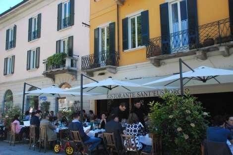Milan - Restaurant - Sant'Eustorgio