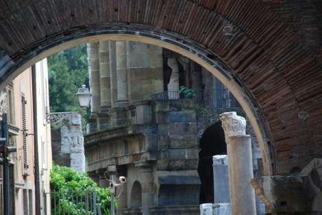 Portico di Ottavia and teatro di Marcello