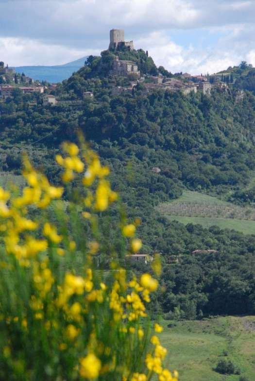 Val d'Orcia one day itinerary - landscape