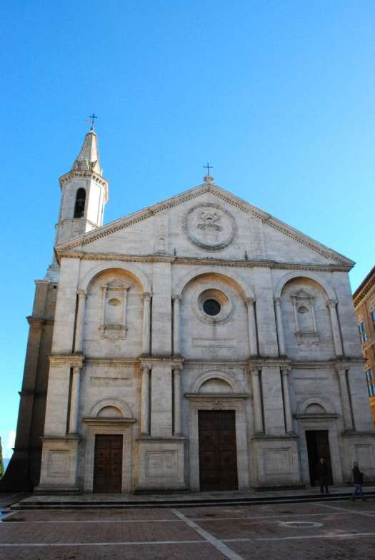 Val d'Orcia one day itinerary - Pienza - Santa Maria