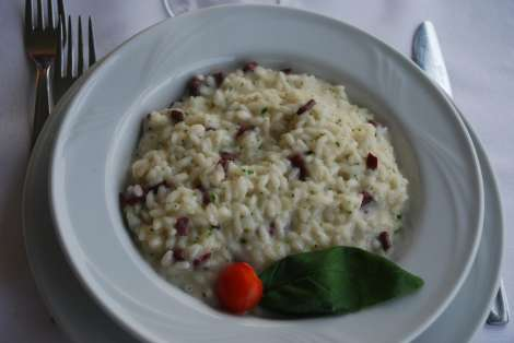 Bellagio_Risotto Bitto e Breasaola