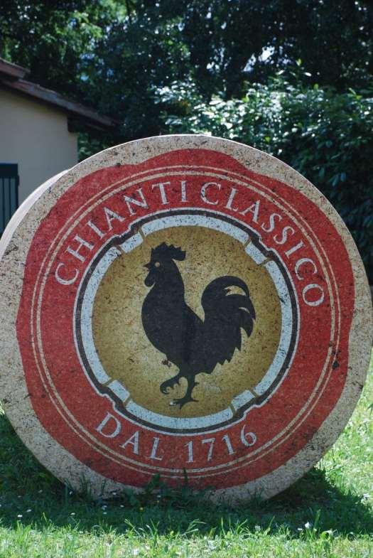 Chianti itinerary - Chianti Gallo Nero brand