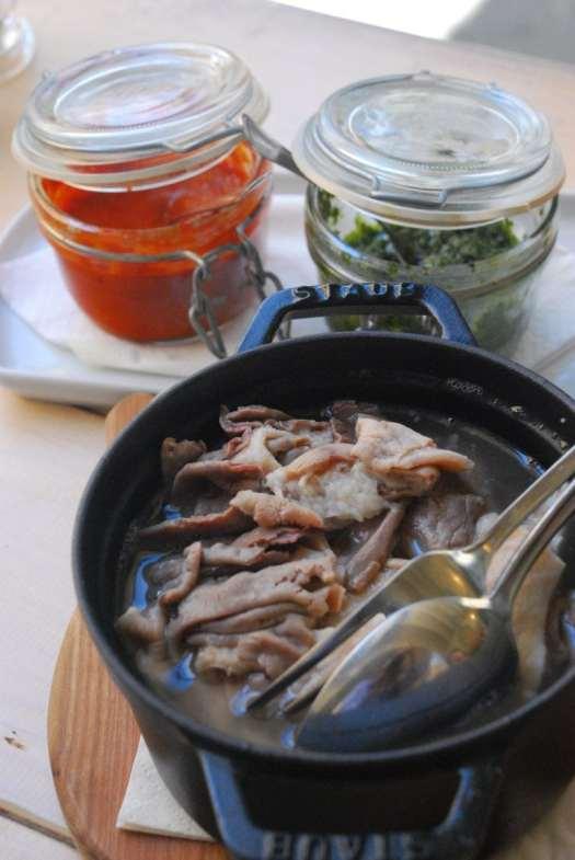 Florence typical food: Lampredotto (Greve in Chianti - osteria Nerbone)